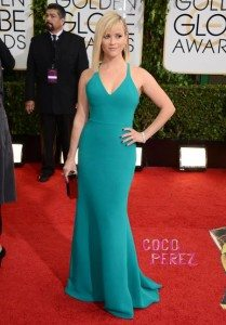 Top 5 Golden Girls at the Golden Globes Ceremony 2014 - Reese Witherspoon