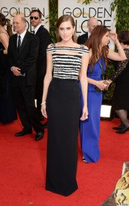 Top 5 Golden Girls at the Golden Globes Ceremony 2014 - Allison Williams