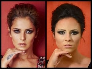 How to get the Cheryl make up look by The Topiary Salon, Old Basing.